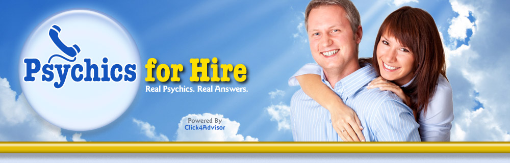 Psychics for Hire: Psychic Phone Readings, first 3 minutes free!